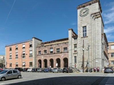 Nuoro. Le Poste di piazza Crispi (© foto S.Novellu)