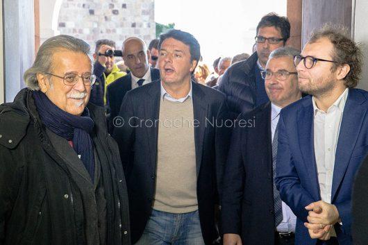 Matteo Renzi in visita a Nuoro (© foto S.Novellu)