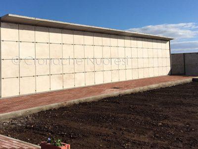I loculi del nuovo cimitero di Macomer (© foto Cronache Nuoresi - Tutti i diritti riservati)