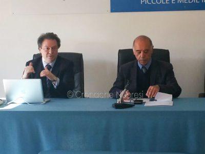 L'avvocato Luche con Gina Franco Seddone (foto C.Nuoresi)