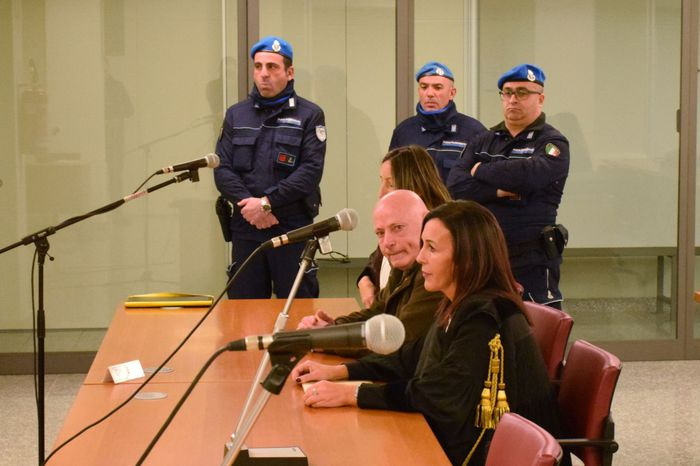 Mesina in Corte d'appello a Sassari