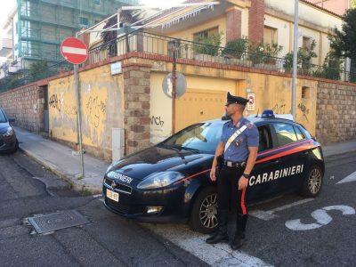 I Carabinieri sul posto della tentata rapina