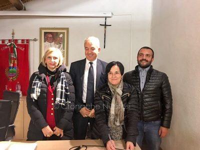 Accordo tra sindaco e gestore del Cas alla presenza del Prefetto e assessore Spano