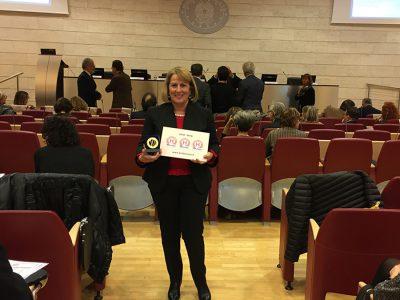 La direttrice del distretto sanitario di Nuoro Gesuina Cherchi ieri a Roma