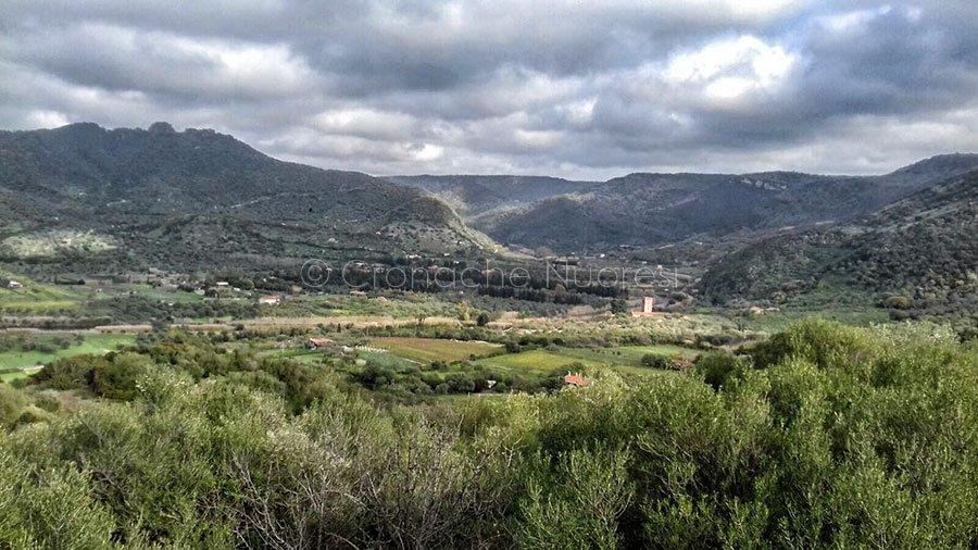 La valle di Bosa (foto Cronache Nuoresi)