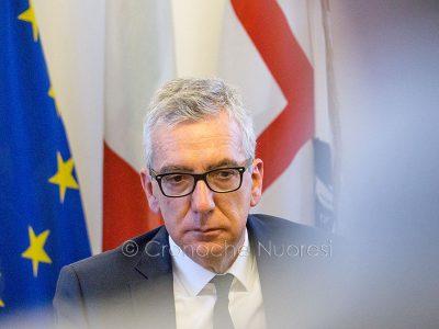 Il presidente della Regione Pigliaru (foto S.Novellu)
