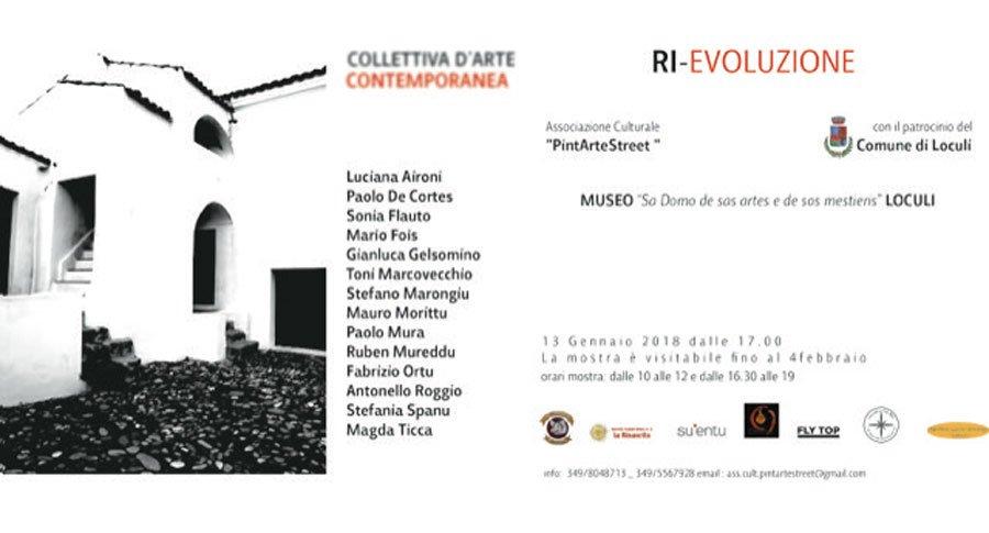 """RI-EVOLUZIONE"": la rivoluzione artistica parte da Loculi"