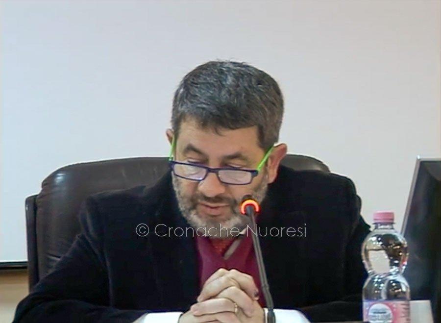 Il sindaco di Macomer Antonio Succu