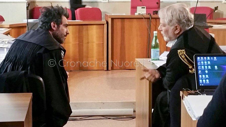Il Pubblico Ministero Andrea Vacca e l'avvocato Patrizio Rovelli (foto C.Nuoresi)