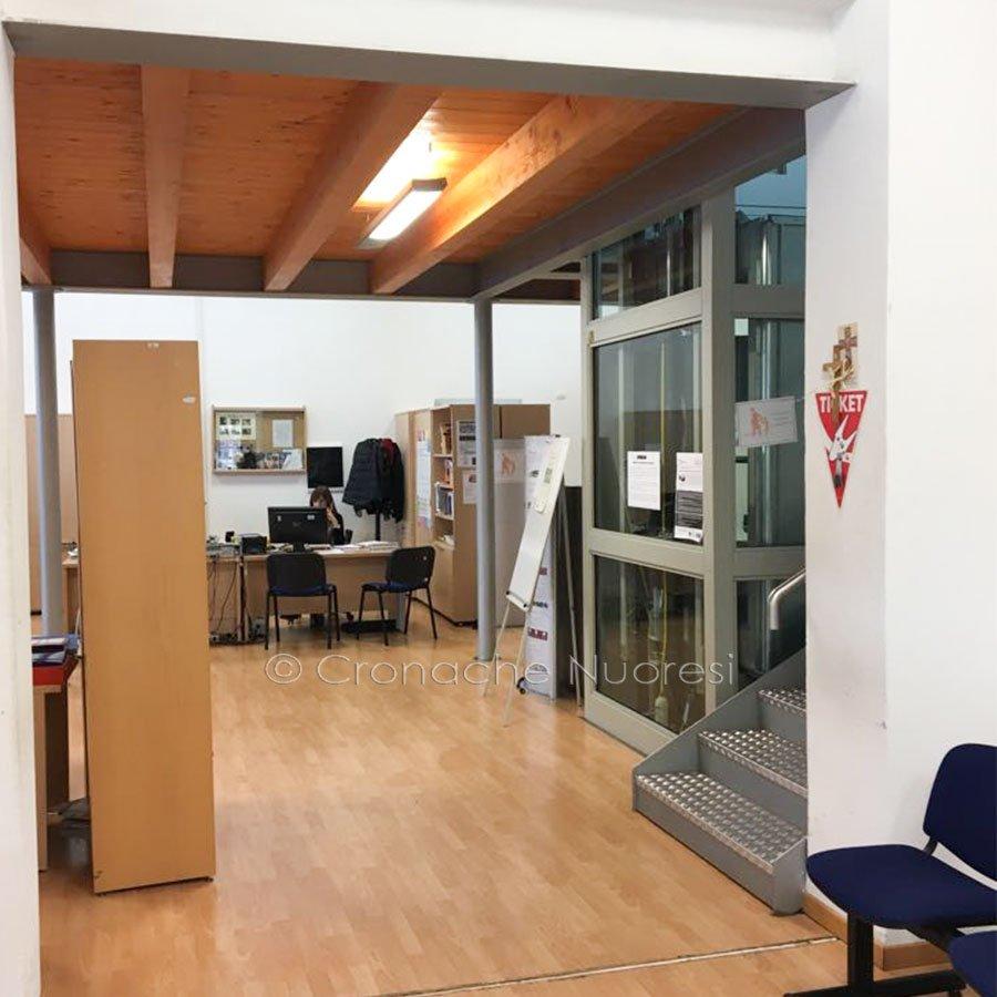 Il centro del CPI di Nuoro (foto Cronache Nuoresi)