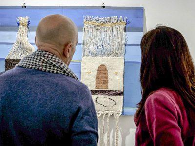L'inaugurazione di una mostra al MAN