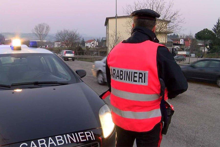 Controlli dei Carabinieri nelle strade