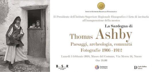 "ISRE. ""La Sardegna di Thomas Ashby. Paesaggi Archeologia Comunità. Fotografie 1906-1912"""