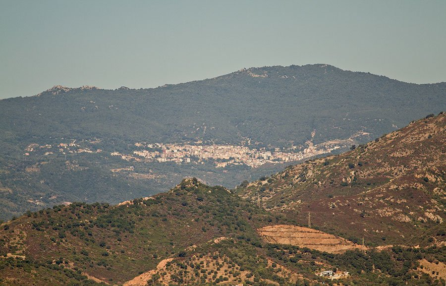 Una panoramica di Arzana