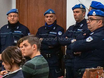 Un momento dell'udienza odierna del Processo Cubeddu (foto C.Nuoresi)