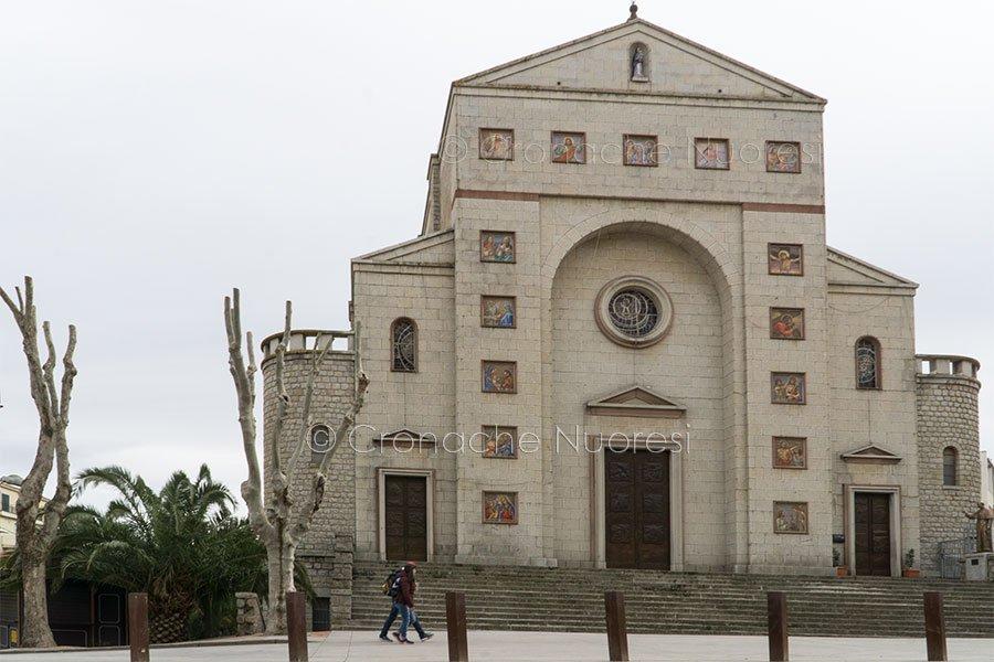 Alberi capitozzati davanti alla chiesa delle Grazie (© foto S.Novellu)
