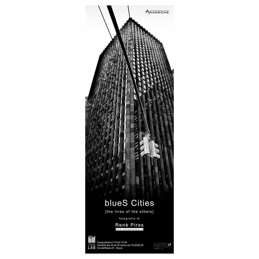 """""""blueS Cities (the lives of the others)"""". Le fotografie di Renè Piras in mostra a Seunalab"""