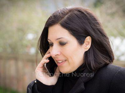 L'onorevole Mara Lapia del M5s (foto S.Novellu)