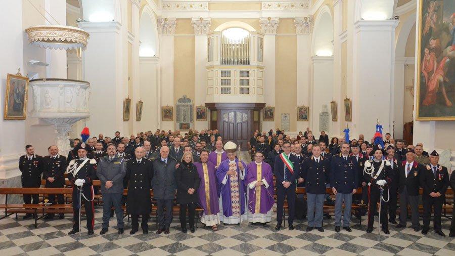Le Forze Armate e di Polizia in Cattedrale per il Precetto Pasquale