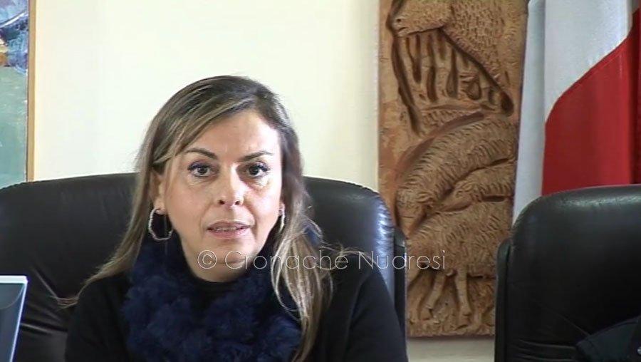 Il vice sindaco di Macomer Rosanna Ledda