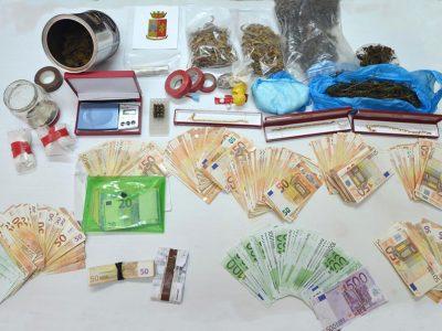 La droga sequestrata a Lanusei