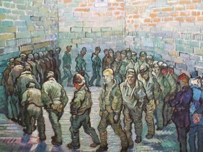 La ronda dei carcerati dipinto di Vincent Willem van Gogh
