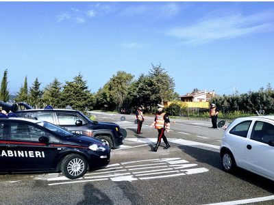Controlli dei Carabinieri a isili