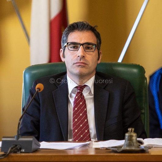 Il presidente del Consiglio Comunale di Nuoro, Fabrizio Beccu (foto S.Novellu)