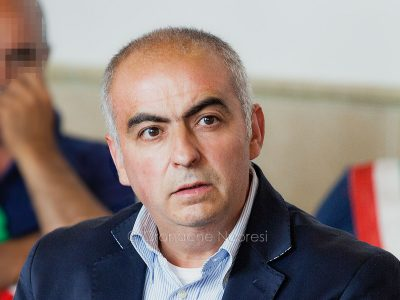 Francesco Rocca durante il processo (foto S.Novellu)