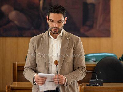 Il consigliere Pierluigi Saiu (foto S.Novellu)