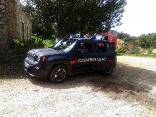 I Carabinieri sull'Ortobene