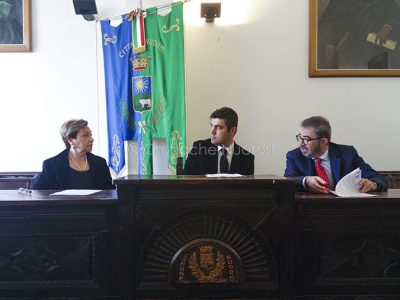 La conferenza sul protocollo siglato oggi (F. Cronache Nuoresi)