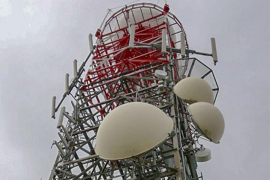 Il radar di Monte Rosu