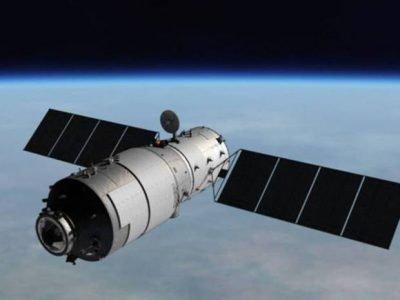 Un'immagine radar della stazione spaziale