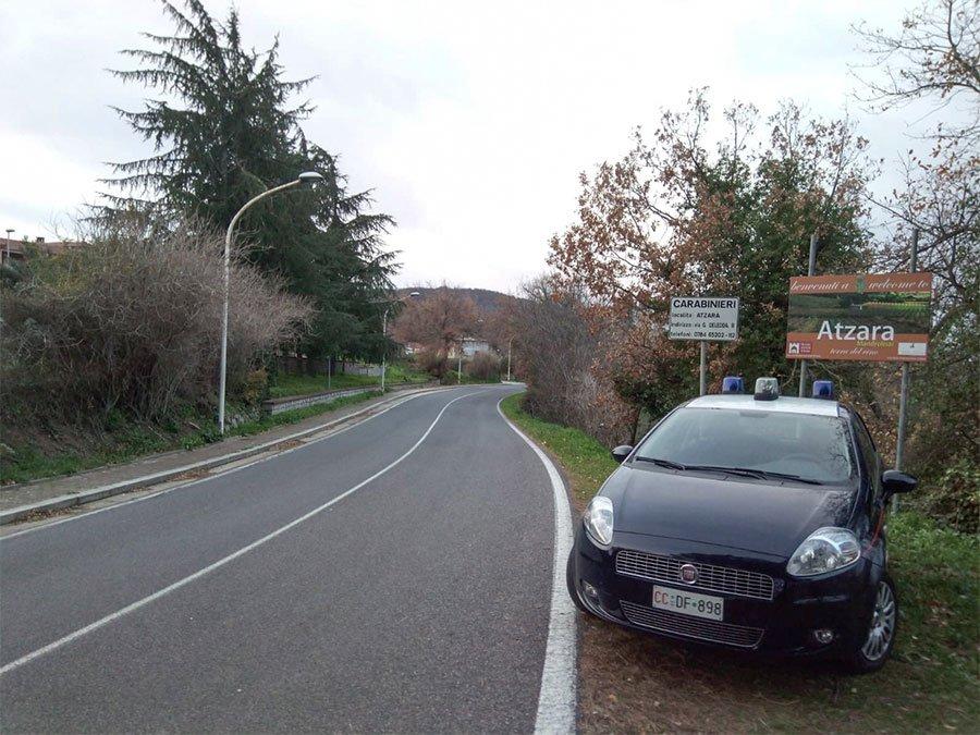 La chiazza d'olio riscontrata dai Carabinieri