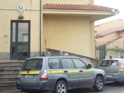 La sede della Guardia di Finanza di Isili