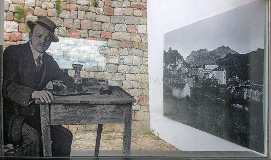 Uno scorcio della mostra Max Leopold Wagner (foto S.Novellu)