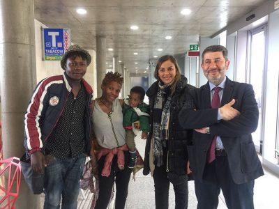 Macomer, famiglia nigeriana ospite del CPR
