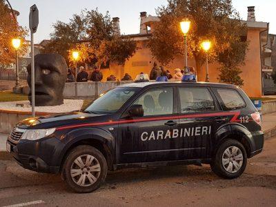 Mamoiada, una pattuglia dei Carabinieri