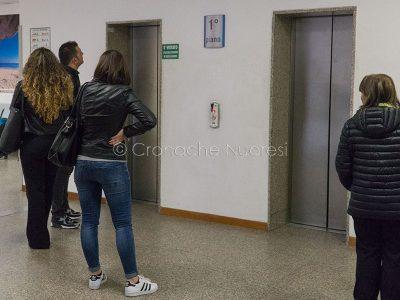 Nuoro, ascensori fuori uso all'ospedale San Francesco (foto S.Novellu)