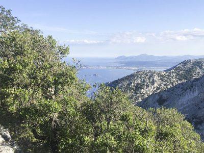 Punta Giradili dove è avvenuto l'intervento del Soccorso Alpino