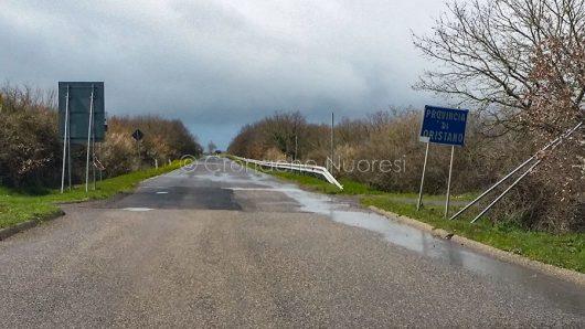 SP 48, limite della provincia di Nuoro (foto S.Novellu)
