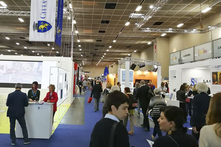 Salone del libro di Torino 2018 (foto G.Manca)