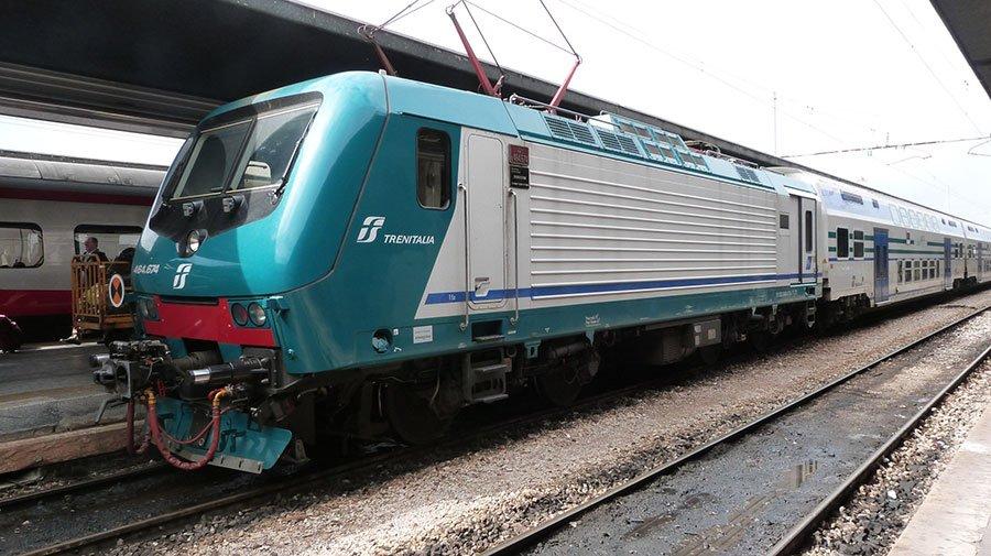 Un treno delle Ferrovie dello Stato