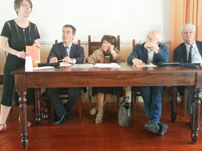 La cerimonia della borsa di studio Bachisio Floris