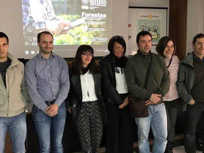 Gli otto ricercatori del Consorzio Universitario Nuorese