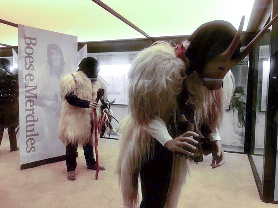 ISRE, inaugurazione della Sala del Carnevale tradizionale barbaricino