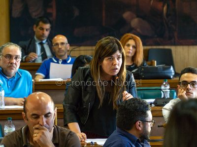 Il Consigliere Claudia Camarda (foto S.Novellu)