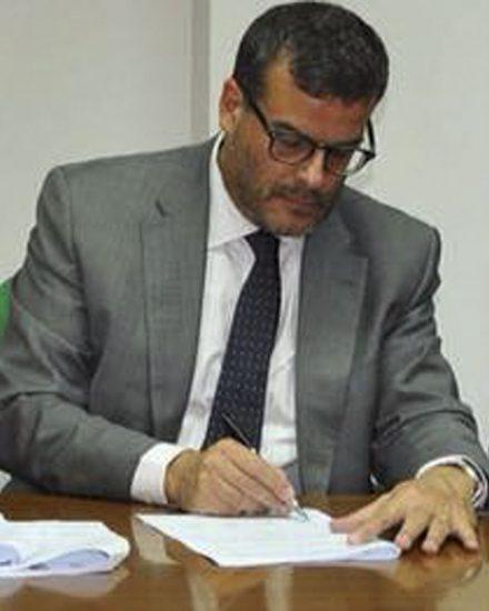 L'assessore Luigi Arru