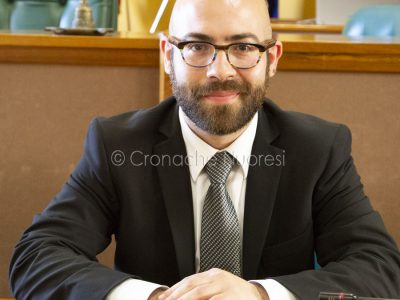 L'assessore Marcello Seddone (S. Novellu)